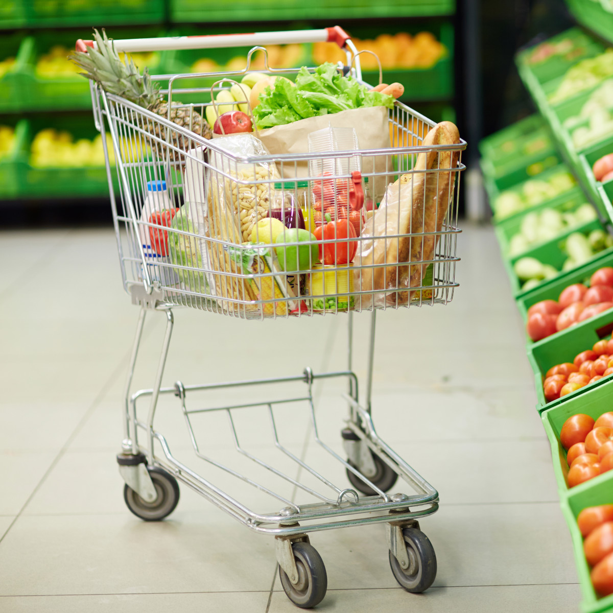 Skills At Work - Grocery Cart in Store